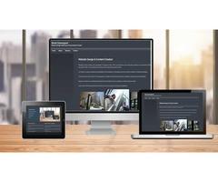 WEBSITE DESIGN FOR NEW BUSINESS