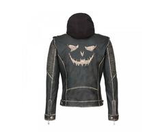 The Killing Jacket Joker | Suicide Squad Black Leather Jacket