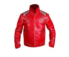 Happy Christmas  Michael Jackson Classic Beat Vintage Leather Jacket