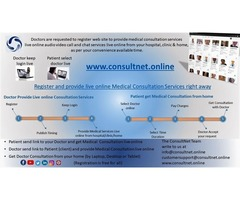 consultnet.online  Doctor Consultation Services online