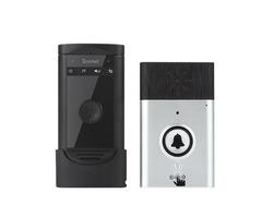 Wireless Voice Intercom Doorbell Battery Mobile 200M Outdoor Transmitter with Indoor Receiver