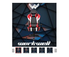 High Quality PU Computer Swivel Gaming Chair With Adjustable Armrests