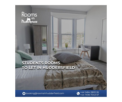 Find rooms of student's areas in Huddersfield