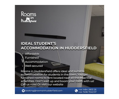 Ideal student's accommodation in Huddersfield