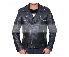 Jeffery Dean Morgan Walking Dead Leather Jacket