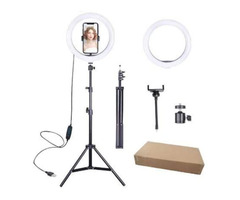 OEM LED Camera Ring Light with Tripod Stand for Live Stream