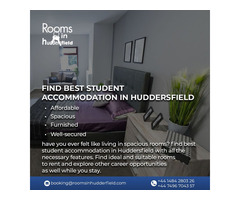Find best student accommodation in Huddersfield