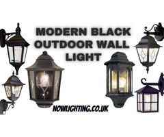 Black Outdoor Wall Lights