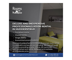 Deluxe and inexpensive professionals room rental in Huddersfield