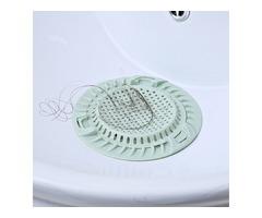 Creative Double Layers Floor Drain Kitchen Food Residue Strainer Bathroom Hair Floor Drain
