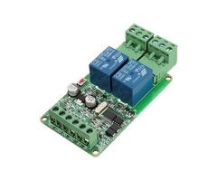 Modbus-Rtu 2-way Relay Module Output 2 Channel Switch Input TTL/RS485 Interface Communication
