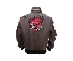Cyberpunk 2077 Samurai Synthetic Leather Jacket