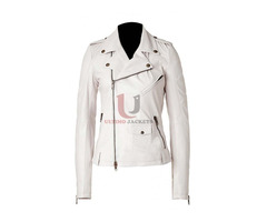 Ashes To Ashes (Alex Drake) White Leather Jacket | free-classifieds.co.uk