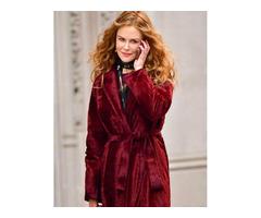 The Undoing Red Velvet Coat