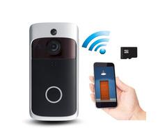 WiFi Wireless Remote Video Doorbell Camera Door Intercom Security Bell Phone