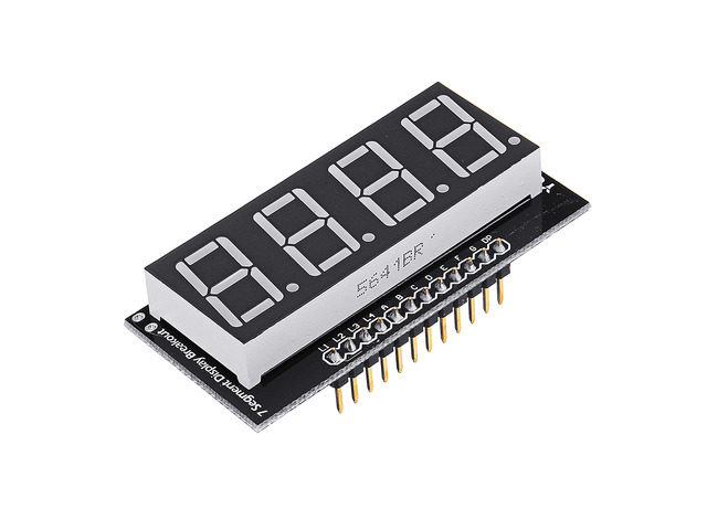 YwRobot® Four Digital Tube Red LED Display Module Common Anode For Arduino Electronic Building Block | free-classifieds.co.uk