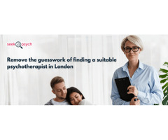 Find a suitable psychotherapist in London
