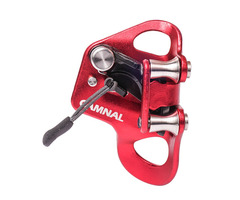 CAMNAL Climbing Chest Riser Ascender Stainless Steel Pulley Chest Rising Device 8-13mm Rope Ascender