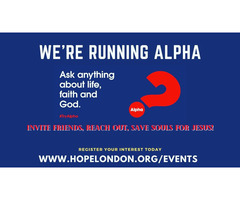 FREE Hope London Alpha Online Course