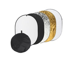 35*47 inch Portable 5 in 1 Photo Reflector Photography Light Mulit Collapsible
