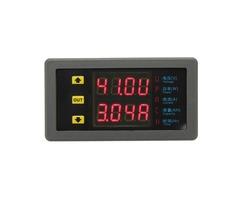 VAM-9020 Dual Display Digital Volt Meterr Voltage Meter DC Power Ammeter Capacity Table