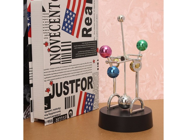 Decoration Cosmos Perpetual Motion Kinetic Toy Newton's Cradle Desk Toy Gift | free-classifieds.co.uk