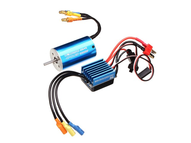 2845 Motor 3100/3930KV Sensorless Brushless Waterproof 35A ESC RC Car Parts | free-classifieds.co.uk
