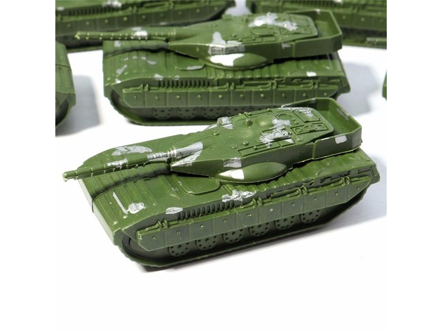 5PCS Military Tanks Rotating Turret Plastic Toy Soldier Army Men Accessories | free-classifieds.co.uk