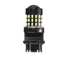 Single 3157 3156 12V White 6000k 54SMD LED Car Turn Lights Backup Reverse Braking Brake Lamp Bulb