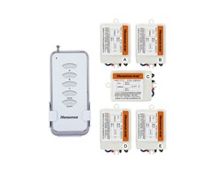 Y-F211A1N5 Hesunse Five Ways Digital RF Wireless Remote Control Switch 220V 5Ch Receivers And 1 Tran