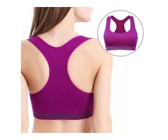 Comfy Wireless Vest Running Yoga Overhead Bra | free-classifieds.co.uk