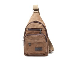 Women Men Vintage Canvas Satchel Shoulder Bag Messenger Travel Bag