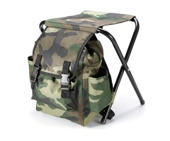 Fishing Chair Outdoor Portable Folding Stool Backpack Portable Folding Fishing Chair Backpack