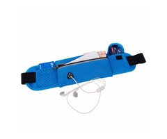 MAIYE Running Bag Sports Waist Bag Breathable Mesh Running Belt Pouch for Smartphone under 6 inch