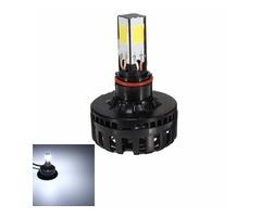 H4 H6 BA20D Hi/Lo Motorcycle 12V COB LED Headlamp Headlight Bulb