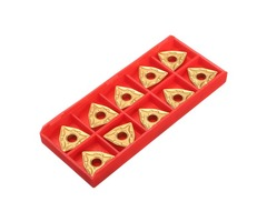 10pcs WNMG432 Titanium Coated Carbide Inserts For CNC Stainless Tool
