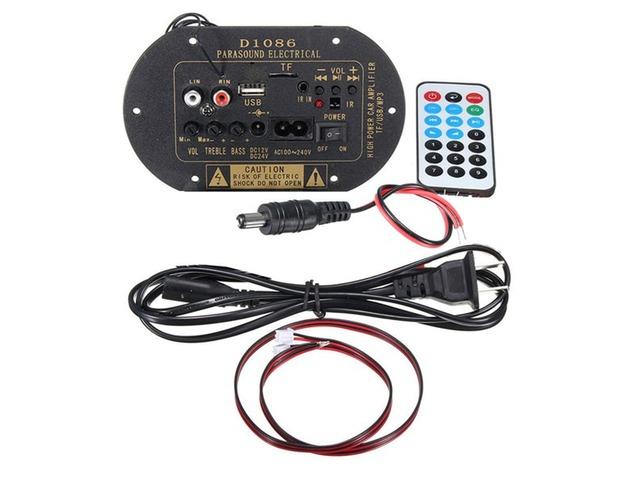 80W Subwoofer Hi-Fi Amplifier Board High Power Bluetooth Car TF USB 12V/24V/220V | free-classifieds.co.uk