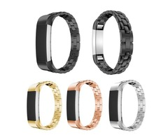 Replacement Metal Steel Watch Wrist Bands Strap Bracelet for Fitbit Alta