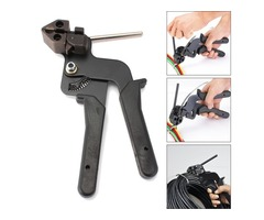 Cable Tie Gun Stainless Steel Ties Automatic Tensioner Cutter Tool