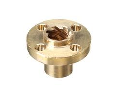 3D Printer T8 1/2/4/8/10/12mm Copper Screw Nut For Stepper Motor Lead Screw 8mm Thread