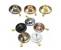 Universal Colorful Ceiling Fan Light Wall light Pull Chain Switch AC 3A/125-250V