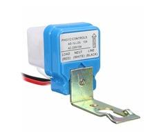AC 220V 10A Automatic Auto On Off Street Light Switch Photo Control Sensor