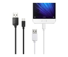 LAPU 2.0A 0.82ft/0.25m USB 2.0 Type-C TPE Wire Data Cable For Samsung Xiaomi Huawei
