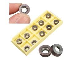 10pcs RPMW1003M0 VP15TF Carbide Inserts for EMR-5R25-C20-150 Holder