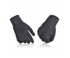 1 Pair Of 5 Level Anti-Cutting Gloves Stainless Steel Wire Safety Work Hands Protector Cut Proof