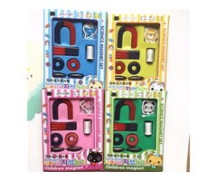 Magnets Field Scool Kids Teaching Education Tool Set Horseshoe Magnet Ring Toy | free-classifieds.co.uk