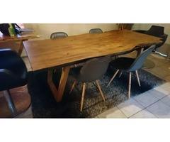 Dining Table Bespoke Solid Oak