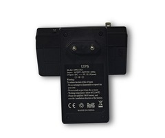 2 in 1 UPS + AC to DC Adapter DC5V 2A Uninterruptible Power Supply Online UPS for CCTV Camera Router