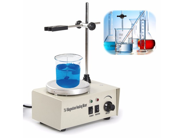 220V 150W Magnetic Stirrer Mixer Machine with Heating Plate 1000ML Laboratory | free-classifieds.co.uk