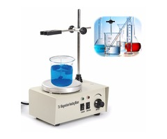 220V 150W Magnetic Stirrer Mixer Machine with Heating Plate 1000ML Laboratory